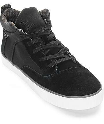 Toms Camila Black Weatherized Womens High Top Shoes
