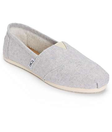 Toms Classic Light Woolen Womens Shoes