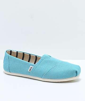 Toms Classic Venice Marine Blue Shoes