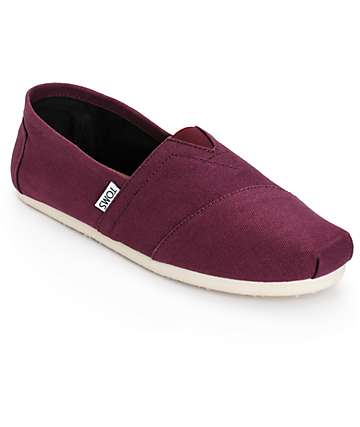 Toms Classics Mens Slip-On Shoes