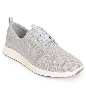 Toms Del Rey Vapor Blue Womens Shoes