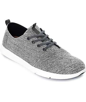 Toms Del Rey zapatos teñidos en gris