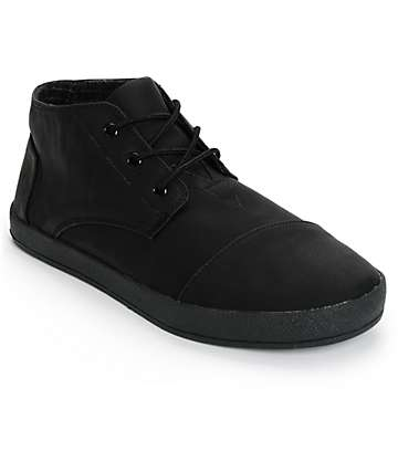 Toms Paseo Mid Synthetic Leather Shoes