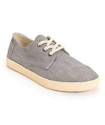Toms Paseos Chambray Shoes