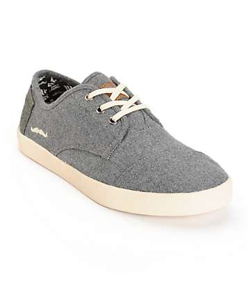 Toms Paseos Movember Wool Shoes