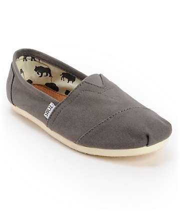 Toms Shoes Men's Classic Grey Shoes