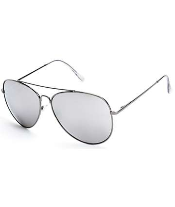 Top Gun Black Aviator Sunglasses