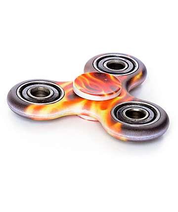 Top Trenz fidget spinner en rojo y negro