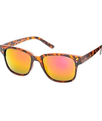 Tortoise Brown Classic Sunglasses