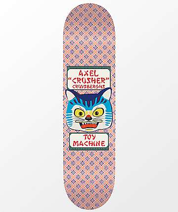 "Toy Machine Axel Cruysberghs Cat 8.25"" Skateboard Deck"