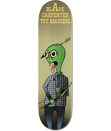 "Toy Machine Carpenter Arrow 8.25"" Skateboard Deck"