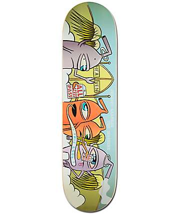 "Toy Machine Leabres Sect Heaven 8.25"" Skateboard Deck"