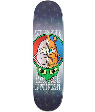 "Toy Machine Lutheran Turtle Head 8.5"" Skateboard Deck"