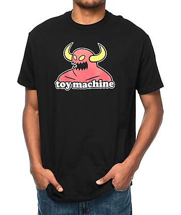 Toy Machine Monster Black T-Shirt