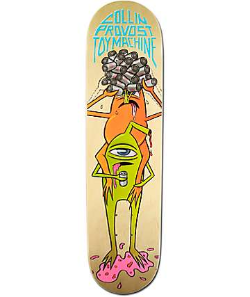 "Toy Machine Provost Beer Guzzler 8.125"" Skateboard Deck"