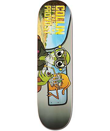 "Toy Machine Provost War Turtle 8.0"" Skateboard Deck"