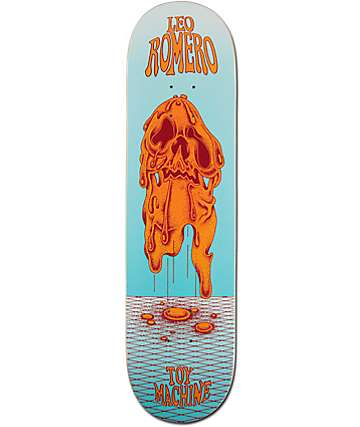"Toy Machine Romero Face Melt 8.0"" Skateboard Deck"