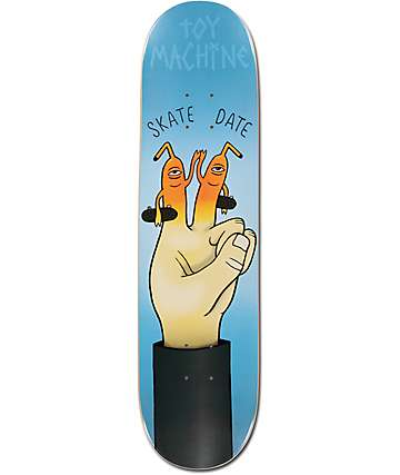 "Toy Machine Skate Date 8.0"" Skateboard Deck"