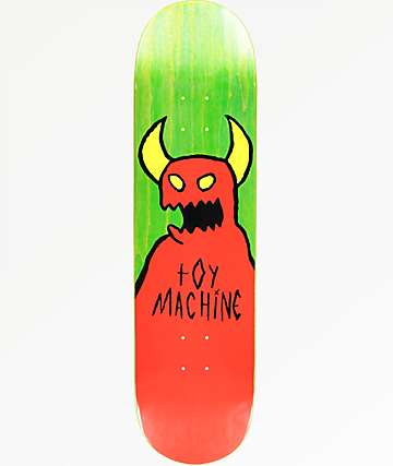 "Toy Machine Sketchy Monster 8.38"" Skateboard Deck"