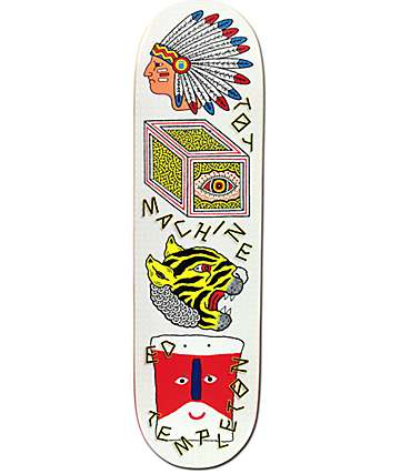 "Toy Machine Templeton Spirits 8.75"" Skateboard Deck"