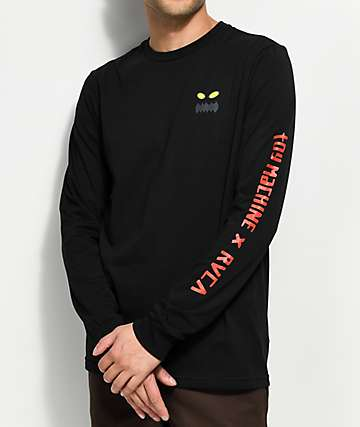 Toy Machine X RVCA Black Long Sleeve T-Shirt