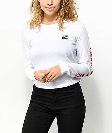 Toy Machine x RVCA White Long Sleeve T-Shirt