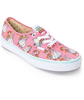 Toy Story x Vans Authentic Toy Story Woody & Bo Peep Shoes (Womens)
