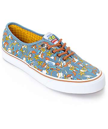 Toy Story x Vans Authentic Woody Denim Shoes (Mens)