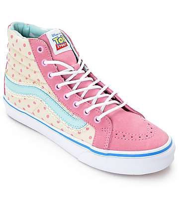 Toy Story x Vans Sk8 Hi Slim Bo Peep Shoes