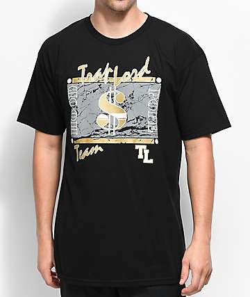 Trap Lord $$ Team Black T-Shirt