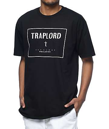 Trap Lord Box Black T-Shirt