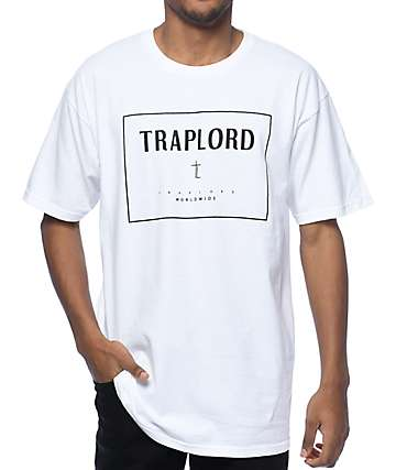 Trap Lord Box White T-Shirt