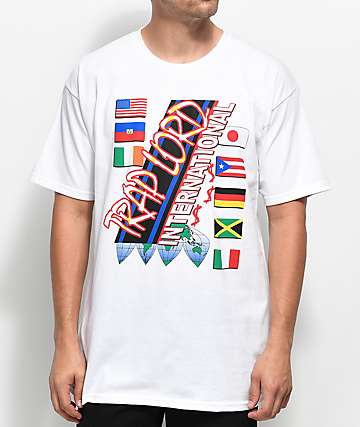 Trap Lord International camiseta blanca