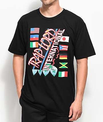 Trap Lord International camiseta negra
