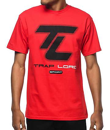 Trap Lord Sport Red T-Shirt