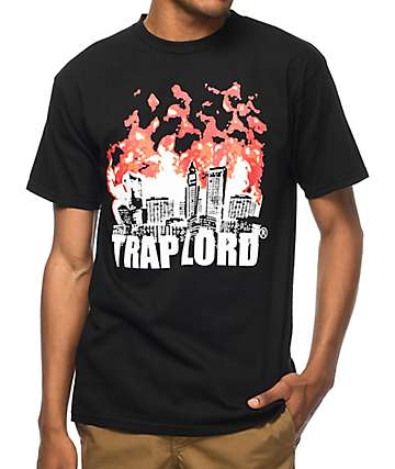 Trap Lord Trapcity Black T-Shirt
