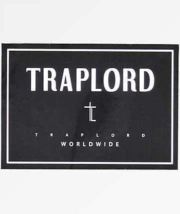 Trap Lord World Wide Black Sticker