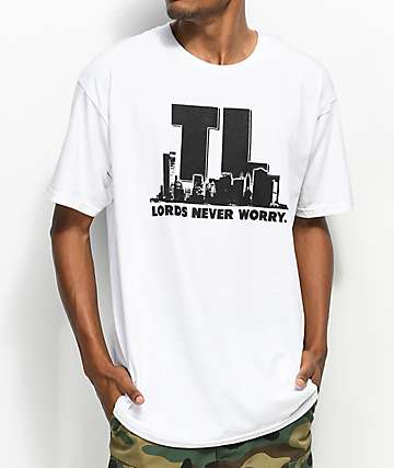 Traplord Never Worry White T-Shirt