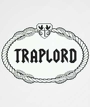 Traplord Rope White & Black Sticker