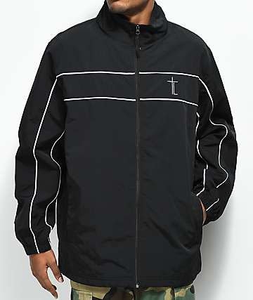 Traplord Sport Black Track Jacket