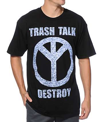 Trash Talk Destroy Static T-Shirt