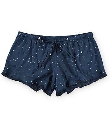 Trillium Cole Celestial Navy Lounge Shorts