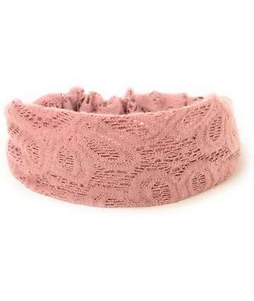 Trillium Crochet Headband