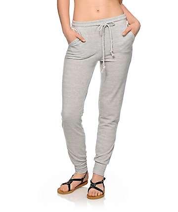 Trillium Crochet Pocket Jogger Pants
