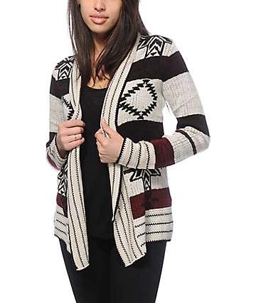 Trillium Maddox Tribal Cardigan
