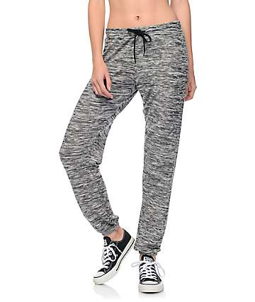 Trillium Sweet P Heather Grey Cozy Lounge Sweatpants