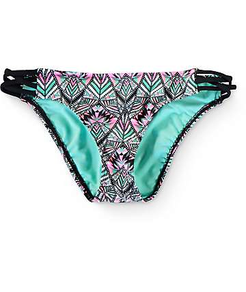 Trillium Tribal Carnival Strappy Hipster Bikini Bottom
