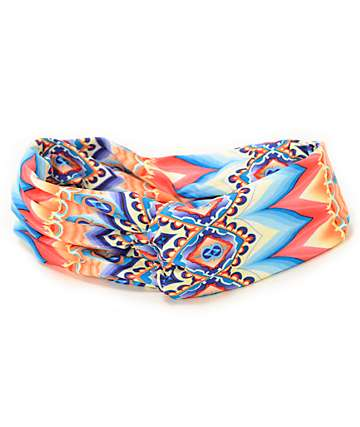 Trillium Tribal Peacock Headband