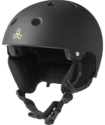 Triple Eight Brainsaver Audio Snowboard Helmet