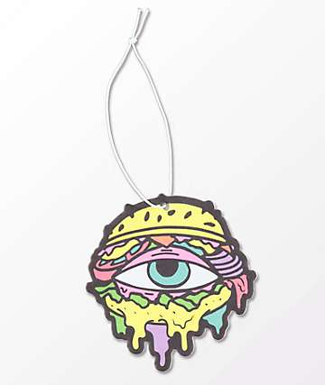 Trippy Burger Air Freshener